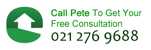 Call Pete to get your free consultation 021 276 9688